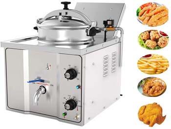 8. Enshey 2400W Electric 16L Pressure Fryer