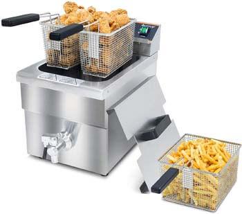 4. Duxtop Commercial Deep Fryer