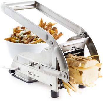 4. POP AirFry Mate, Stainless Steel French Fry Cutter