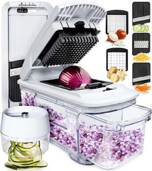 9. Fullstar Mandoline Slicer Spiralizer Vegetable Slicer