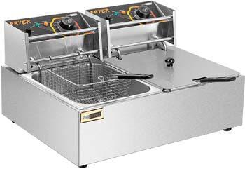 9. VIVOHOME 20.7 Qt Large Capacity Electric Deep Fryer