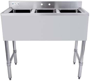 3. HALLY SINKS & TABLES H 3 Compartment Sink