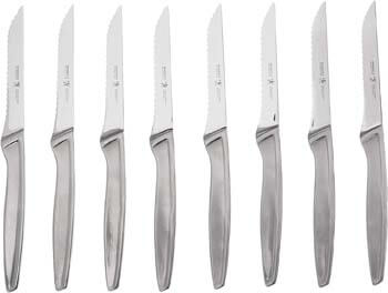 8. J.A. Henckels International Stainless Steel 8-Piece Steak Knife Set