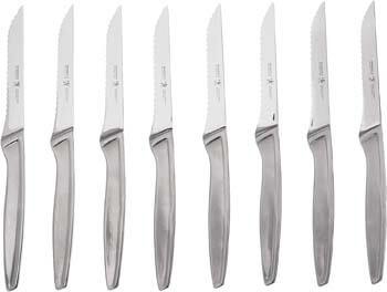 8. J.A. Henckels International Stainless Steel 8-Piece Steak Knife Set