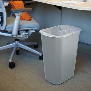 5. Rubbermaid Commercial 2957 LLDPE 10-Gallon Deskside Large Trash Can