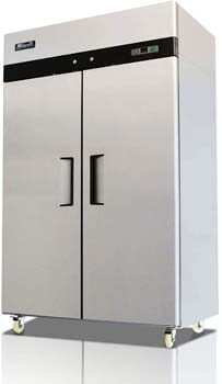 8. NEW-Migali-C2-F- 2 Door Reach-in Freezer