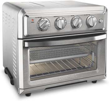 7. Cuisinart TOA-60 Convection Toaster Oven Airfryer, Silver