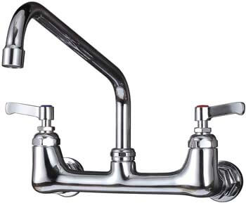 10. IMLEZON Wall Mount Kitchen Faucet 8