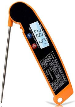 5. JAKO-T3 Pro Meat Thermometer with Backlight & Calibration